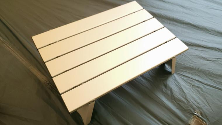 ひっくり返せば耐荷重30kgのテーブルが完成