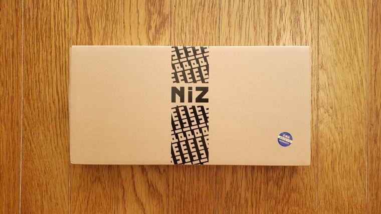 NiZ静電容量無接点キーボード66EC(S)BLe/35g(ATOM66)の外箱