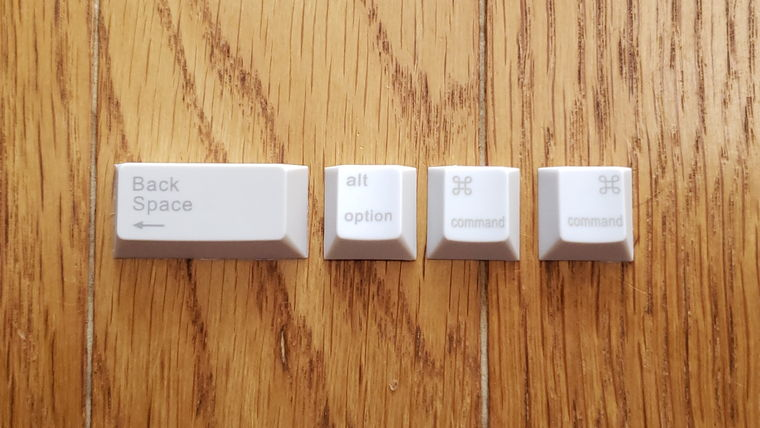 NiZ静電容量無接点キーボード66EC(S)BLe/35g(ATOM66)ATOM66の交換用キートップ